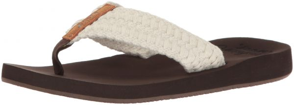 06466546012 Reef Women s Cushion Threads Sandal