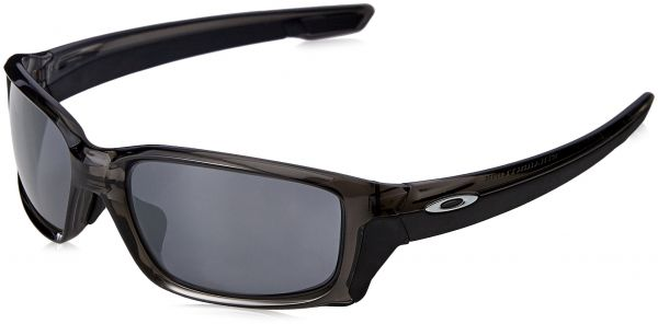 68a8dd8e9a Oakley Men s Straightlink (a) Non-Polarized Iridium Rectangular Sunglasses