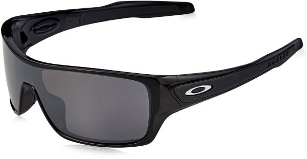 4c85099c31 Oakley Men s Turbine Rotor Polarized Iridium Rectangular Sunglasses ...