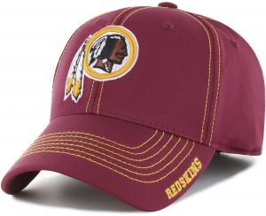 00f2d17bb23e7 OTS NFL Washington Redskins Adult Start Line Center Stretch Fit Hat