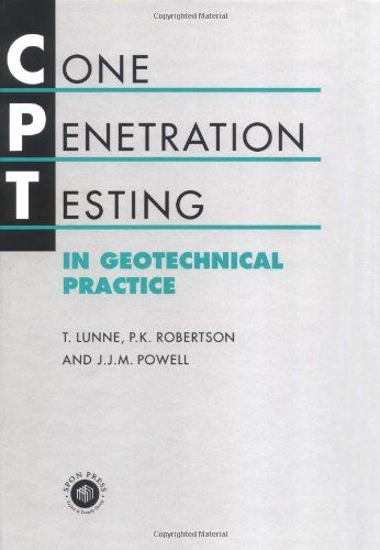 Cone geotechnical penetration test think, that