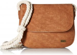 Roxy When We Move Cross Body Bag Brown