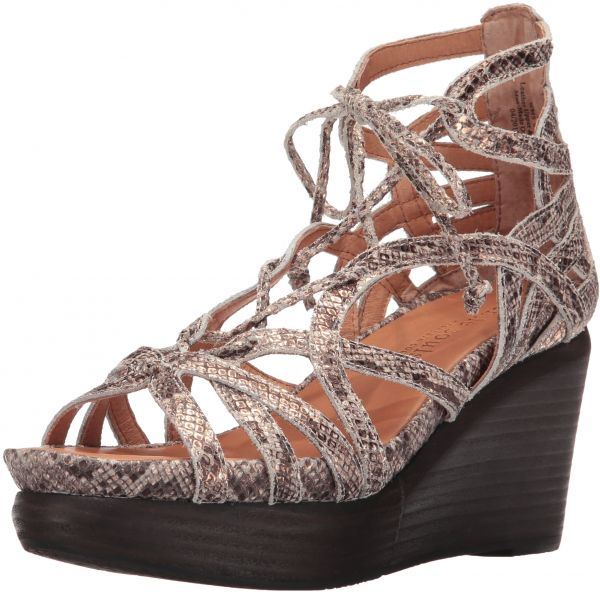 308475a11ca Gentle Souls by Kenneth Cole Women s Joy Wedge Sandal with Ghillie Detail  Sandal