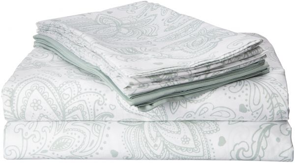 Chic Home Ss3676 An Welford 6 Piece Microfiber Vintage Paisley