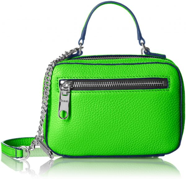 Milly Astor Mini Satchel Lime Green