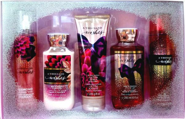 Bath And Body Works A Thousand Wishes 5 Gift Set