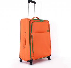 best cheap new arrive high quality United Colors Of Benetton Luggage Trolley Bag , One piece , Orange ...