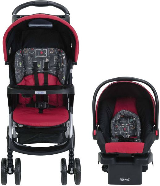 Graco Comfy Cruiser Click Connect Baby Travel System Stroller Car Seat Maci 1957102