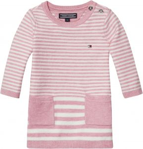 1386b7aedc6 Tommy Hilfiger Striped Sweater Dress for Newborn Baby Girls - 0 Months