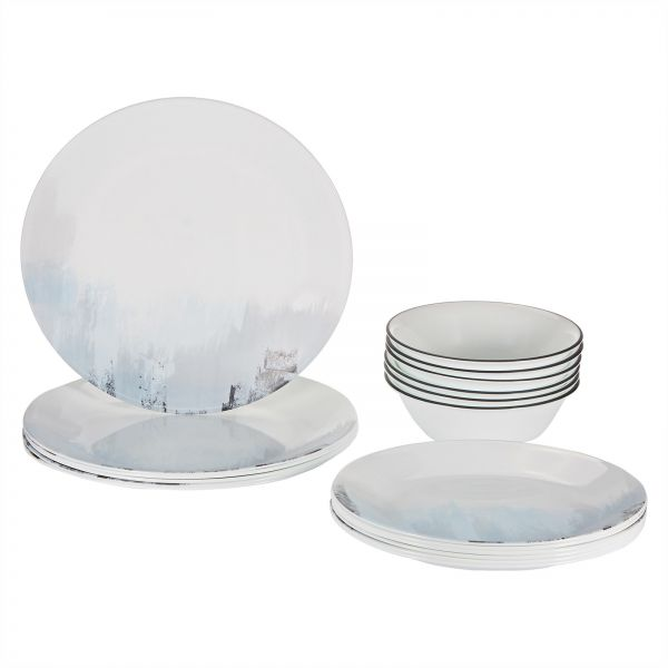 Corelle Vitrelle Tranquil Reflections Dinnerware Set 18 Pieces - Multi Color  sc 1 st  Souq.com & Souq | Corelle Vitrelle Tranquil Reflections Dinnerware Set 18 ...