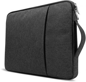 9795fe750575 Black 13 And 13.3 Inch Laptop Sleeve Slim Protective Case Pocket Bag Pouch  Water Resistant Skin Cover for Carrying Notebook Computer MacBook Pro Acer  Dell ...