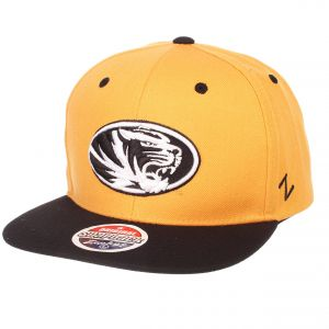 6ecf34c0749 Zephyr NCAA Missouri Tigers Men s Z11 Static Snapback Hat