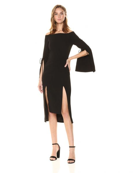 C Meo Collective Women s Have IT All Off The Shoulder Midi Dress ... 75de610f7
