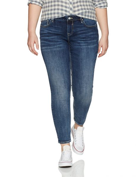 6c27af0aed2 VIGOSS Women s Plus Size Jagger Classic Fit Skinny Jean