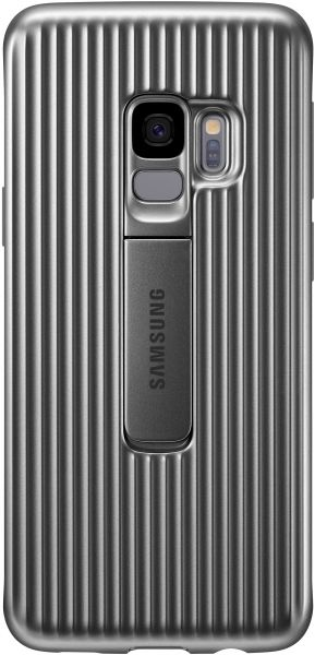 reputable site ca36f 34b5e Samsung Galaxy S9 Protective Standing Cover - Silver, EF-RG960C