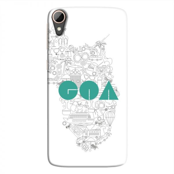 Souq Cover It Up Goa Hard Case For Htc Desire 828 White Kuwait