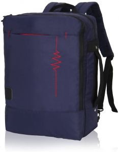 newest collection 87c27 ab0ee Hynes Eagle Minimalist City Backpack for Up to 15.6 inch Laptop Medium  Black HE0771-6