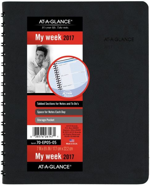 at a glance daily appointment book planner january 2018