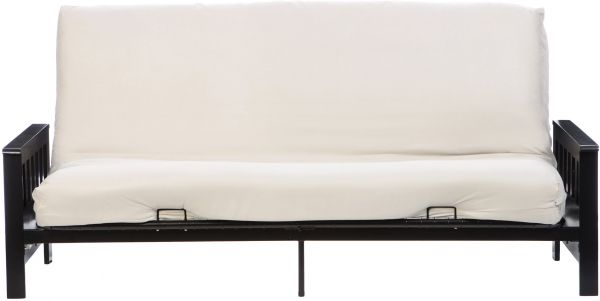 Lcm Home Fashions Micro Suede Futon Cover Twin Ivory