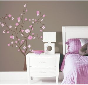 3b49797a3 ROOMMATES RMK1555GM Spring Blossom Peel   Stick Giant Wall Decal