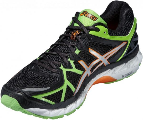 8adb84cc1ac9 Asics K Run Gel-Kayano 21 Running For Men - Black   Green