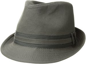6323f825cbb U.S. Polo Assn. Men s Cotton Twill Fedora Grosgrain Hat Band