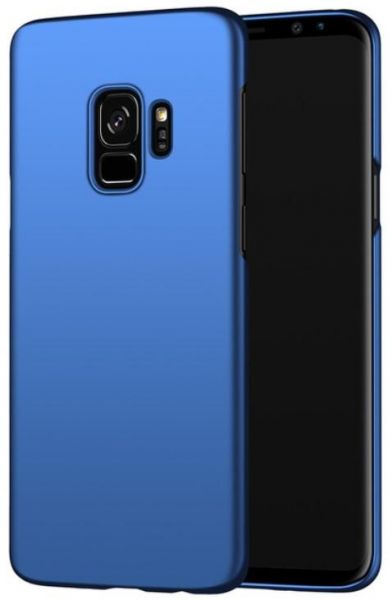 meet 19b73 0abe2 MOFI Samsung Galaxy S9 Case, Hard PC Blue