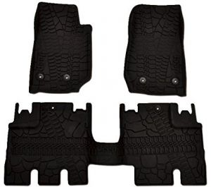 1 Piece Aries LX02121502 Tan Rear 3D Floor Liner