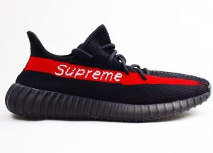 d1fb00704d61 Supreme X Yeezy Boost 350 V2 Sneakers
