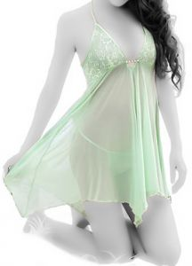 13aeb968d8508b Transparent Sleepwear Night Dress