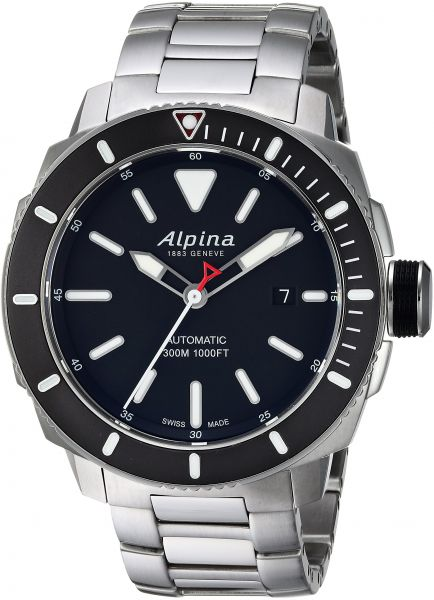 Buy Alpina Mens Seastrong Swiss Automatic Stainless Steel Diving - Buy alpina watches