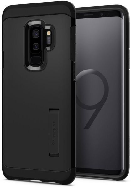 premium selection ca265 b4dec Spigen Samsung Galaxy S9 PLUS Tough Armor kickstand cover / case - Black S9+