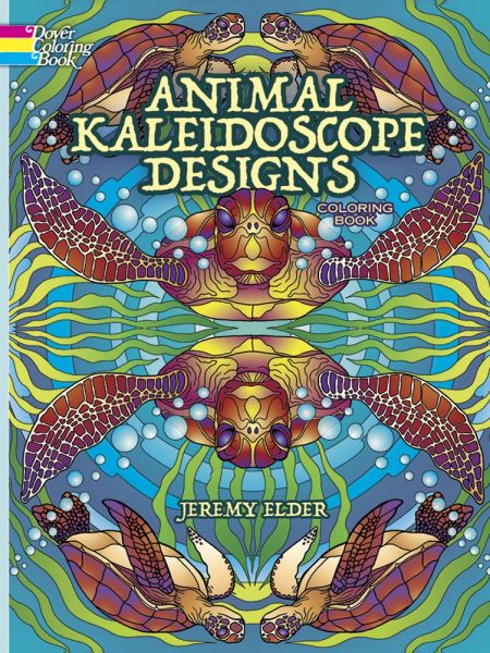 Animal Kaleidoscope Designs Coloring Book (Dover Coloring Books ...