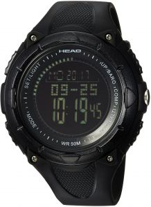 f5714f6d593 Head Men s  Avalanche  Quartz Resin and Silicone Casual Watch