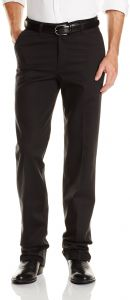 91c7a323 Wrangler Men's Tall Riata Flat Front Relaxed Fit, Black, 34x38 ...