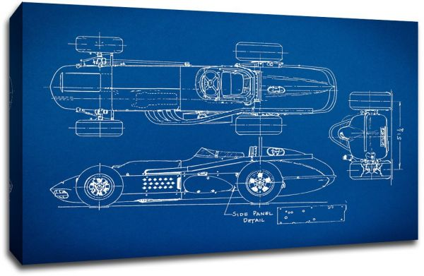 Larger than life prints old race car gearhead blueprint art 30x20 this item is currently out of stock malvernweather Gallery