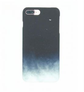 Black White Retro Classic Simple Starry Sky Nebula Moon Cloud Fog Gradient Color Unique Creative Ultra-light Super Durable Full Protective Hard Case Cover ...