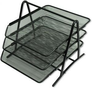 mainstays 3 piece home office bundle black storage cabinet fis wire mesh office trays set of trays black color suitable for a4 documents fsot102bk white friday sale on mainstays 3piece office set black fis