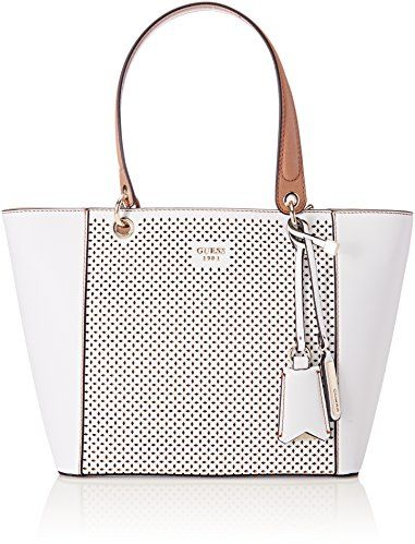 Guess Bag For Women White Tote Bags
