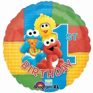 Buy sesame 1st birthday party | Amscan,Party Time,Creative