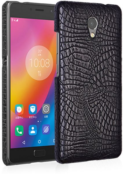sale retailer 7bfd7 2b068 for lenovo vibe p2 PU Leather Crocodile pattern Protective Back case Cover