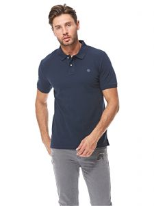 Múltiple Romance Arreglo  Timberland Polo for Men - Navy : Buy Online Tops at Best Prices in Egypt |  Souq.com