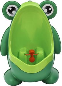 8e4b27f3655ae Cute Frog Potty Training Urinal for Boys with Funny Aiming Target -  Blackish Green