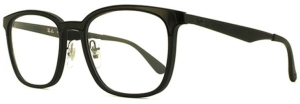 85ed9108be Ray -Ban Square Glasses Frame For Unisex - Black