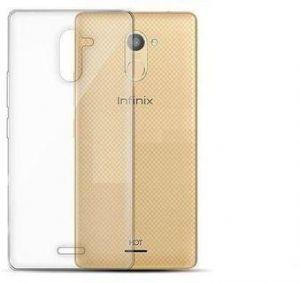 Infinix Hot 4 Pro X556 TPU Silicone clear Case Back Cover By Muzz