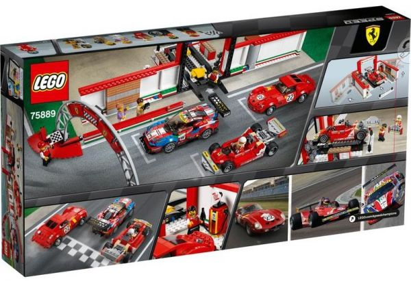 Lego Speed Champions 75889 Ferrari Ultimate Garage Souq Uae