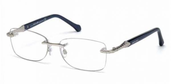 Roberto Cavalli Rc 951 Col. 090 Silver Woman Optical Frame | Souq - UAE