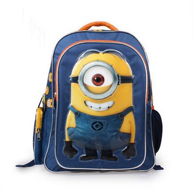 Com Deable Me 3 Minions 16 Large Backpack Kids School Bags For Boys Schoolbag Backpacks