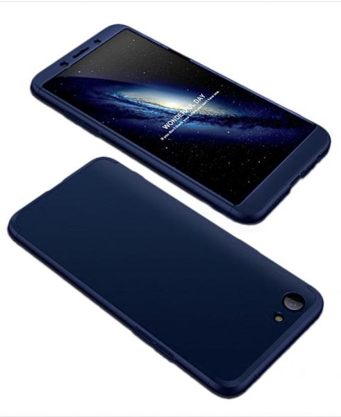 sale retailer d222c 2c114 Generic 360 Full Protection 3in1 PC Cover Case For Oppo A83 - Blue