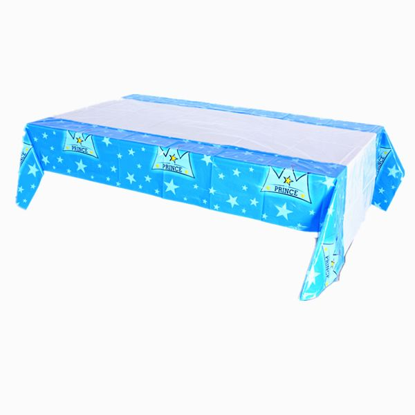 Disposable Princess Crown Party Table Cloth Cartoon Plastic Rectangular Birthday Table Cover blue  sc 1 st  Souq.com & Disposable Princess Crown Party Table Cloth Cartoon Plastic ...